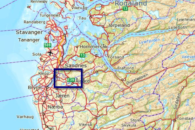 frafjord kart Langs gjengrodde skinner på Ålgårdbanen – Mellom Bakkar og Berg frafjord kart