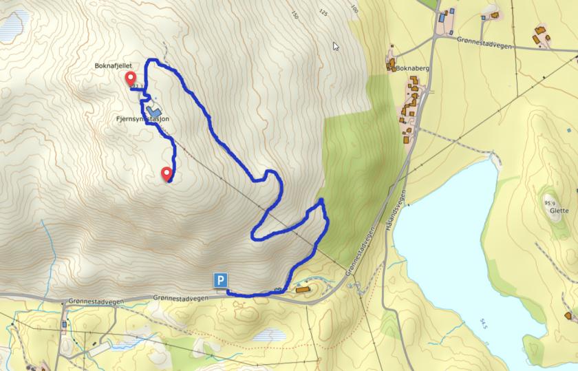 Boknafjellet_kart